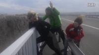 克罗地亚Pag岛上时速170公里的狂风,简直可怕!