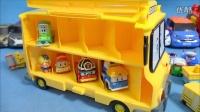 变形警车珀利POLI 全体总动员玩具 拆箱试玩