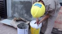 GSD集束达——js聚合物水泥防水涂料施工演示-标清版