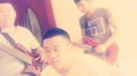 小薇乐队  电吉他大旭  贝司宛健  主唱节奏吉他啊涛 新手上路