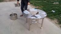 无烟烤肉桌/创美新式火锅烤肉一体桌可折叠便携式桌子