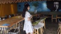 MOJO YUNA Spring/Summer 2016 镂空印花连衣裙