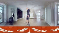 Lady Olga 完美身材内衣秀 -  360°全景视频-VrTed