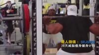 UFC重量级肌肉男健美训练健身房腹肌训练方法马甲线锻炼炫腹
