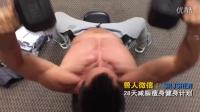 健身励志视频健美肌肉训练练腹肌的最好方法女性如何锻炼胸肌