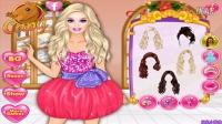 芭比公主动画片大全中文版 芭比的冬天聚餐 芭比之梦想豪宅 芭比娃娃 芭比公主只学校