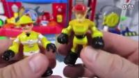 变形金刚 玩具 救援机器人 消防站 Transformers Firehouse