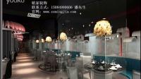 长沙最好的餐饮业装修图,海鲜火锅图片集找长沙铭家装饰