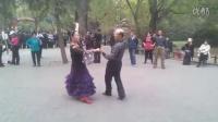 段老师、张老师恰恰舞
