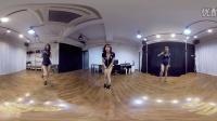 360° VR全景视频 高挑性感美女舞蹈练习室热舞