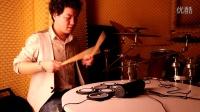 职业鼓手专业演奏科汇兴便携架子鼓《体会》