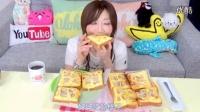 【木下大胃王】用美乃滋+起士+蛋+培根 做出培根蛋义大利土司!