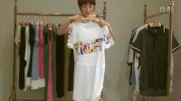 祥子服饰-4.9棉麻大版T长裙60件起批26元一件看货视频