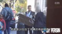 【诺言奇趣视界】男子在衣服贴满钞票并挂着「请自取」的牌子,路人的反应会是? (中文字幕)