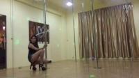 东莞常平IV舞蹈钢管舞简单易学,第一支钢管舞分解动作