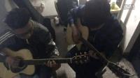 川子的钟,宇宙无敌超级吉他弹唱,唱的有点渣-_-#室友都怒了……