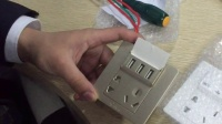 公牛USB五孔墙壁插座安装及详解