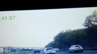 G4高速,京QP2W82白色高尔夫野蛮行驶视频