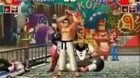 街机游戏 拳皇97 大门连续技演示教学篇 想成为一代钢门吗?