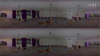 360° VR全景观看 性感美女大尺度秀钢管舞