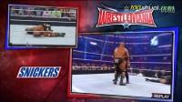 WWE两男一女大PK,简称3P