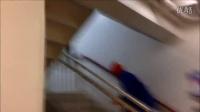 华裔女孩 elve lew  prank in zentai//Morphsuit Scares and Pasadena!