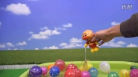 简易水气球工具包和面包超人玩具