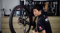 视频: 山地车自行车调整变速器防止跳齿掉链 解决办法
