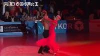 激情探戈,超美的背部!#探戈##舞蹈#|国标舞女王