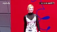 160323 2016 FW 赫拉首尔时装周 Sistar 孝琳 少女时代 金孝渊 4minute 金泫雅 mydaily新闻报道