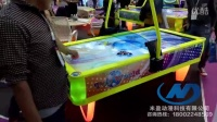 视频: 大型电玩城儿童游乐园曲棍球游戏机设备