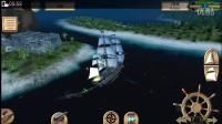 风帆战舰手游:海盗:加勒比亨特,萌新打城镇一等舰真厉害