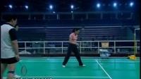 羽毛球视频教程(教学视频)《羽毛球-专家把脉》9接发球站位_混双进攻时的封网策略.rmvb