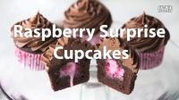 Raspberry Surprise Cupcakes|#纸杯蛋糕