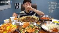 3005韩国吃播吃出个未来·韩国女主播吃货韩国吃播吃饭直播真的是什么都吃,大胃王减肥美食视频美食人生大学生做菜