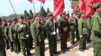 2016年3月25日天下各地参战老兵等约七千余人聚集广西龙州县义士陵寝明朗祭拜英烈。_标清