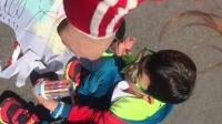 宽甸镇中心小学幼儿园放风筝活动