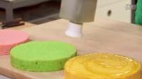 如何制作一个复活节巨型蛋糕!大杏仁饼,蜂蜜,奶油,薰衣草和糖果!