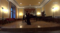 Jie Zhang Brahms Violin Concerto 1st Movement
