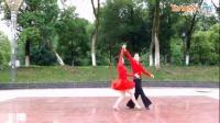 广场舞 交谊舞 双人舞 月亮女神 含教学 柔情中三