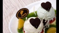 冰激凌火锅团购怎么样,意冰客美味香蕉核桃冰淇淋