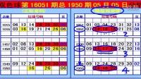 双色球第16051期总1950期《中09宝》彩票分享课堂
