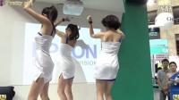 超長美腿美女熱舞秀,台北資訊展