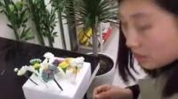 蓝麦技术生日蛋糕讲课现场丹麦面包东北老式油茶面制作实拍老式糕点3.7