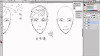 01-头发的画法与发型设计