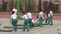 小学体育课《越过障碍前滚翻》优质课教学视频