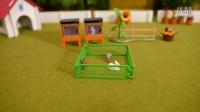 面包超人玩具兔子的关照