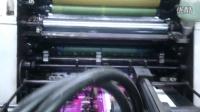 桥本SA551彩色印刷,墨色均匀,套印准,质量绝不输给四色机。