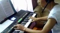 电子琴演奏《爱拼才会赢》