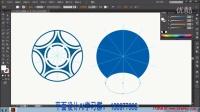 11足球图案AI教程UI设计卡通绘制矢量图标平面设计illustrator